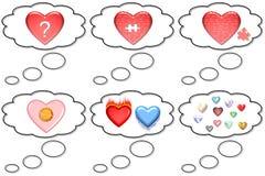 Apuro en amor ilustración del vector