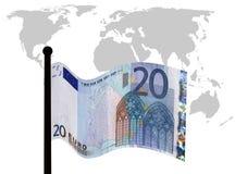 Apuros euro Imagen de archivo libre de regalías