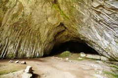 从Apuseni山的Meziad洞 免版税库存图片