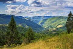 Apuseni berg Arkivbilder