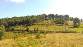 Apuseni mountains. Countryside in Transylvania,Romania Royalty Free Stock Photos