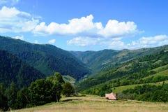 Apuseni mountains. Countryside in Transylvania,Romania, Marisel and Maguri-Racatau Royalty Free Stock Images
