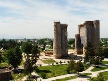Aq-Saray Palace ruins Uzbekistan. Royalty Free Stock Images