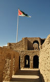 Aqaba castle. Castle is located in the city of Aqaba, about 350 km south of Amman (The capital of Jordan); Middle East Royalty Free Stock Images