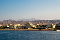 Aqaba early morning on the Red Sea Royalty Free Stock Photography