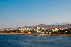 Aqaba early morning on the Red Sea Royalty Free Stock Photo