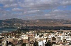 Aqaba and Eilat, Jordan Stock Images