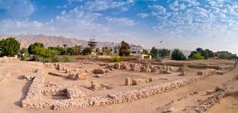 Aqaba en Jordanie Images libres de droits