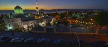 Aqaba in Jordanië stock foto's