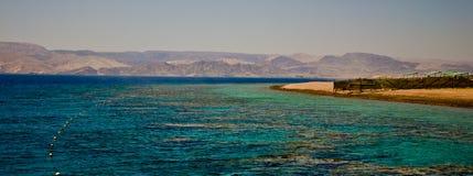 Aqaba zatoka Zdjęcie Royalty Free