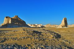 Aqabat. Africa, Sahara desert, Egypt. Tower mountains Aqabat desert at sunset. Africa, Sahara, Egypt stock photos