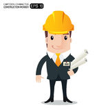 Aqriculture man cartoon Stock Images