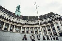 Aquário de Londres Fotos de Stock