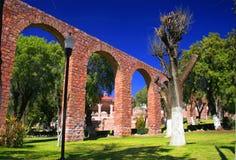 Aquädukt Stockfoto