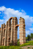 Aquädukt Acueducto Los Milagros Merida Badajoz Lizenzfreies Stockbild
