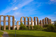 Aquädukt Acueducto Los Milagros Merida Badajoz Stockfoto