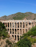 Aquädukt auf Costa Del Sol. Spanien Lizenzfreies Stockbild