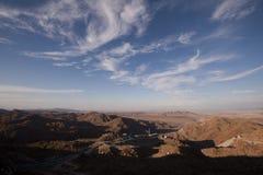Aquädukt in der Wüste Stockfotografie