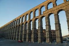Aquädukt Segovia Stockfoto