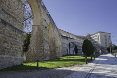 Aquädukt von Heiligem Sebastian Lizenzfreie Stockbilder