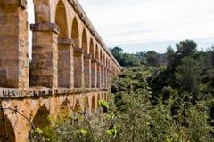 Aquädukt von les Ferreres in Tarragona Stockbild