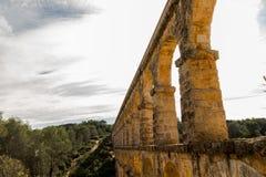 Aquädukt von les Ferreres in Tarragona Stockfotografie