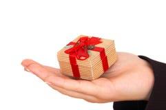 Aquí está su regalo foto de archivo libre de regalías