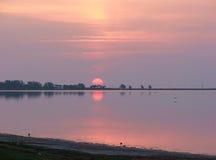 Aquí viene el Sun Fotos de archivo libres de regalías