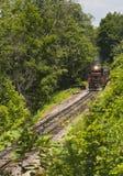 Aquí viene el tren Imagenes de archivo