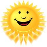 Aquí viene The Sun Fotos de archivo libres de regalías