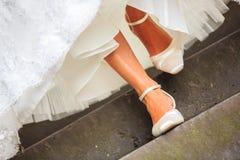 Aquí viene la novia Imagen de archivo libre de regalías