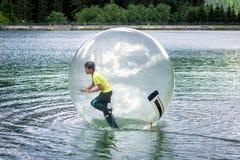 Aqua στο νερό Στοκ Εικόνες