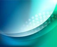 Aqua развевает абстрактная предпосылка Стоковая Фотография RF