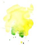 aqua (1) kleks ilustracja wektor