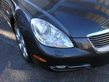 Aqua 2 роскошного автомобиля темный стоковая фотография rf