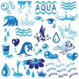Aqua ilustracji