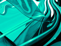 Aqua abstract background. Royalty Free Stock Photo