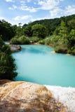 Aqua, Azul. Imagem de Stock