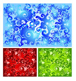 Aqua background. Vector illustration contains image of abstract aqua background Royalty Free Stock Photography