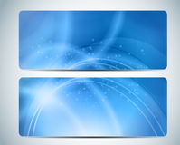 Aqua Background Card Vector Iillustration abstraite Photo libre de droits