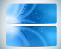 Aqua Background Card Vector Iillustration abstraite Image libre de droits