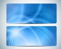 Aqua Background Card Vector Iillustration astratta Fotografia Stock Libera da Diritti