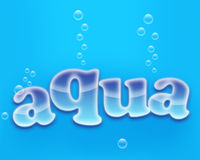 Aqua Royalty Free Stock Image
