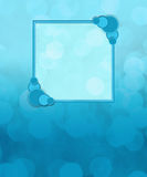 Aqua Blue Background with Text Area Royalty Free Stock Photo