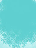 Aqua Blue Pastel Vintage Damask bakgrund Royaltyfri Bild