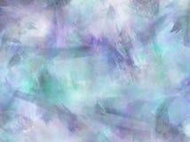 Aqua Blue Purple Watercolor Paper Background Stock Photos