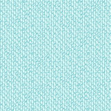 Geometric pattern with tiny shapes and shadows. Aqua blue seamless pattern with organic shapes like water drops similar to 60s wallpaper design. Vector Stock Illustration
