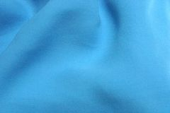 Aqua Blue textured silk Stock Photography