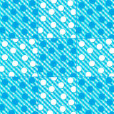 Aqua Blues Abstract Background - Vierkant royalty-vrije illustratie