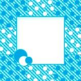 Aqua Blues Abstract Background w/Text Area Stock Photo
